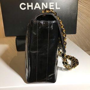 CHANEL Bags - Chanel Patent Leather Jumbo Flap handbag